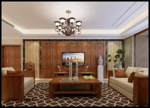 电视墙:隐形门用护墙板的形式出现和石材搭配,高端富贵又 不失大气。