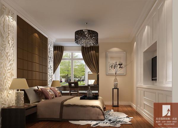 120㎡简约中式装修祥细效果图 卧室