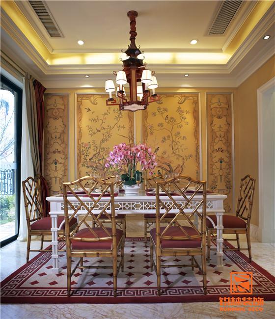 天津别墅室内装修实景图-餐厅2