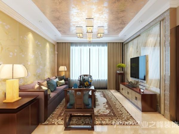 200平新中式风格设计装修图——太原业之峰