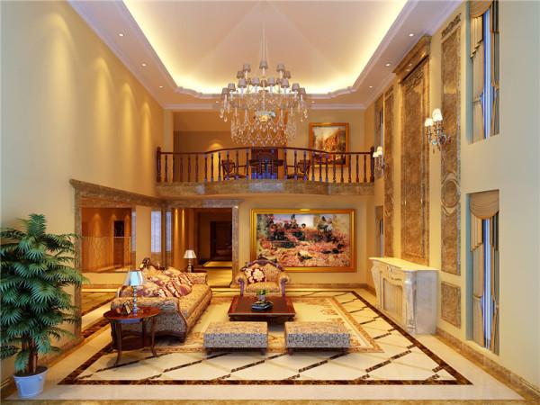欧式古典风格比较注重背景色调,由墙纸、地毯、帘幔等装饰织物组成的背景色调对控制室内整体效果起了决定性的作用。