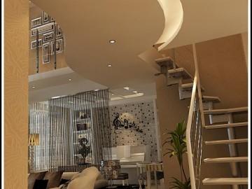 益格名邸160平阁楼现代风格