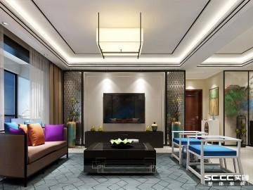180平新中式风格的温馨四居室