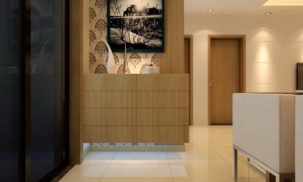 绿地海珀兰轩 89平两居 现代风格装修设计案例 效果图