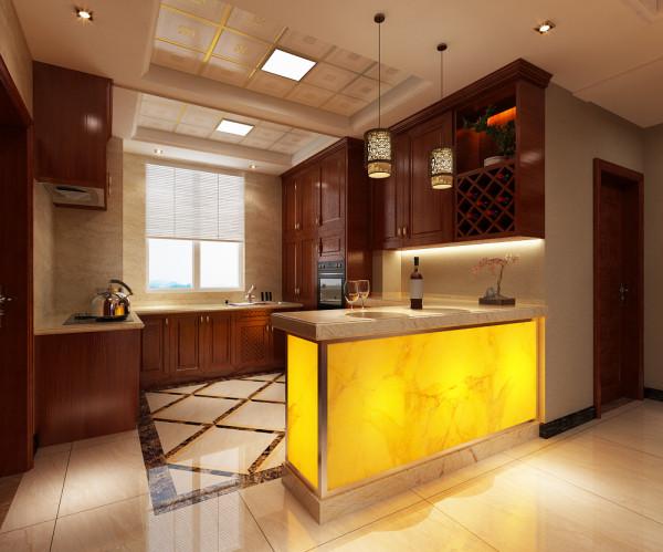 开放式的厨房设计方案