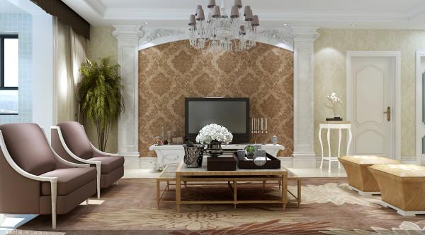 本案以欧洲古典风格为主,繁复的线条,象征贵气的图腾及色彩,结合皮革、大理石及造型线板,暖色调的灯光,这些设计元素使空间在低调中略带奢华。