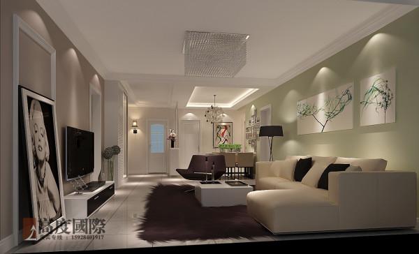 简约清新装修  客厅效果图展示