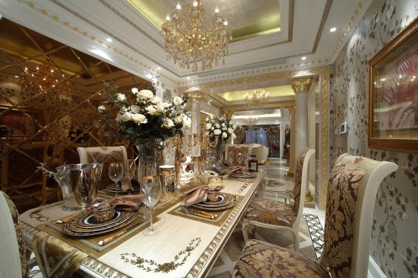 欧式餐厅别墅御汤山熙园别墅图片来自一道伍禾装饰设计师杨洋在尽不规则平面图白领图片