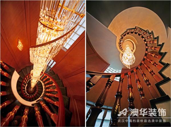 水晶灯装饰客厅欧式城堡