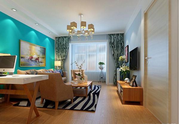 客厅装修效果图 实创装饰沈阳