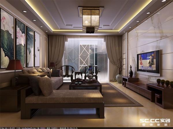 宽阔的长方形大吊顶,显得房间高尚大气,白色的石材造型背景墙和沙发背景墙相呼应,把整个空间体现的极有韵味。