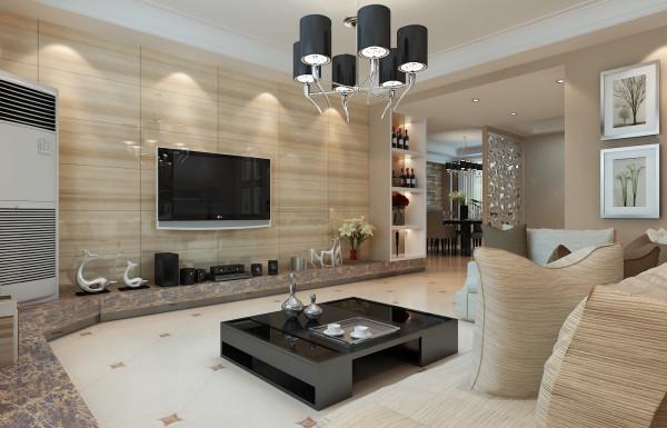 亚太花园 140平四居室 现代简约风格装修 效果图