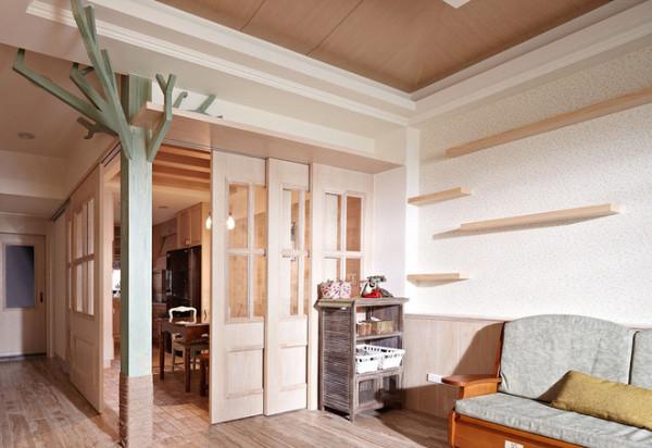 式美式风格美式乡村美家堂装饰客厅装修效果图片 装修美图 新浪装修高清图片