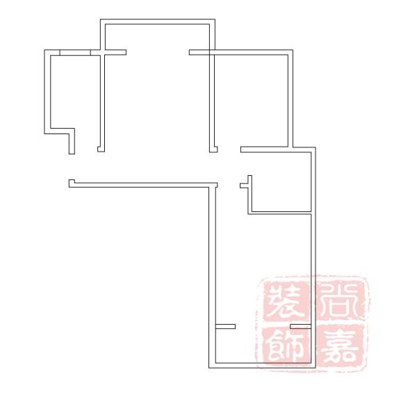 利达国宾中心龙熙86.42平方装修方案效果图