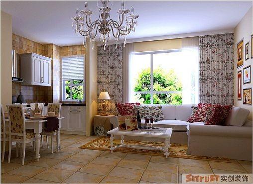 没有夸张,没有刻意的分割,通过干干净净的暖色调设计手法,配以温馨照片墙装饰整体空间。温馨 简洁 大方淋漓尽致。