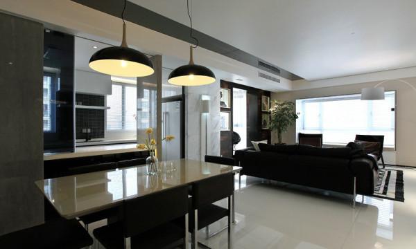 客餐厅:客厅和餐厅是是一体式设计的,因为这样的设计能够增加客厅的图片
