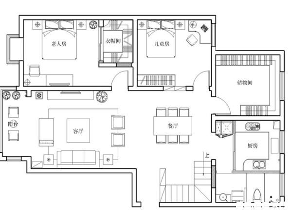 一个温馨现代的家居空间体验,但同时由于业主在外做生意,也希望同时可以达到奢华的感官体验。局部加入咖啡色系,同时搭配玫瑰金线条。