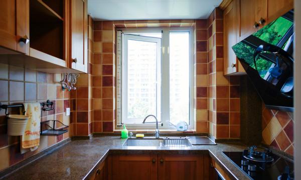别具一格的简美式风格的厨房