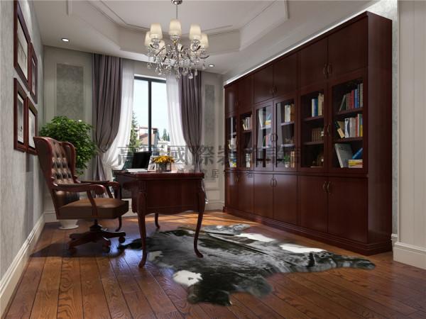 最喜欢书房的设计,一个独立的空间,沉稳,大气。