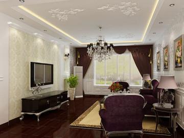 和昌湾景国际新古典装修设计