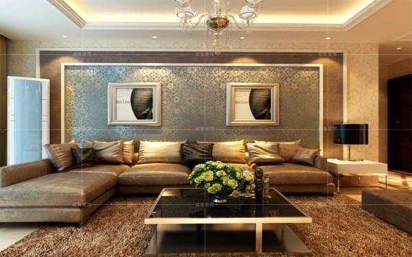 青岛装修 简美 装修公司 客厅图片来自青岛威廉装饰在晓港名城128平