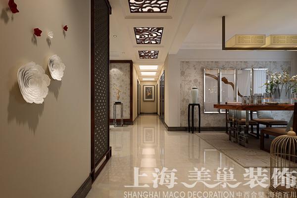 规划局家属院装修四室两厅户型案例设计效果图——走廊设计