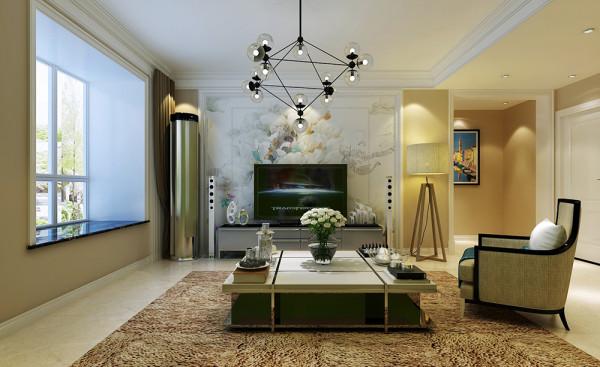 客厅电视墙整体设计效果展示