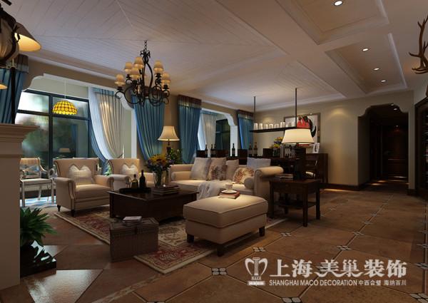 建业贰号城邦160平四室两厅简美装修效果图——沙发布局