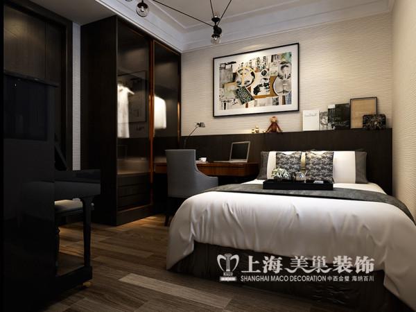 郑州永威五月花城装修效果图鉴赏现代简约风格设计案例——主卧室布局设计
