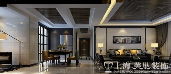 郑州永威五月花城装修效果图鉴赏——现代简约风格布局设计客餐厅效果图
