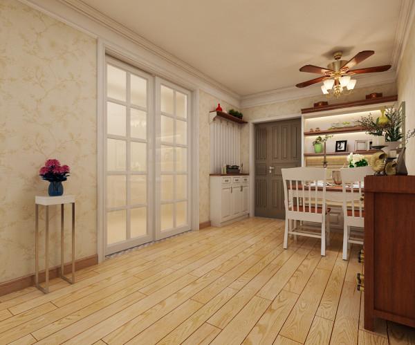 厨房设置推拉门装修设计效果