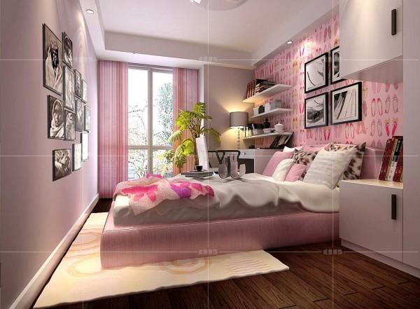 专为小女孩设计的天真活泼的卧室