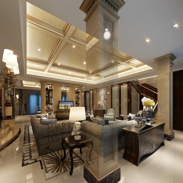 生活家装饰--半岛一号320平米现代风格客厅装修效果图       设计理念:回归自然与高贵典雅巧妙地存在着,毫不违和的给你带来视觉上的享受,一贯是简约清新,时尚自然的设计理念