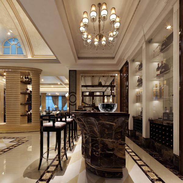 生活家装饰--半岛一号320平米现代风格吧台装修效果图       设计理念:现代风格是比较流行的一种风格,追求时尚与潮流,非常注重居室空间的布局与使用功能的完美结合。