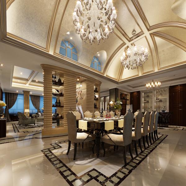 生活家装饰--半岛一号320平米现代风格餐厅装修效果图       设计理念:此方案,利用细腻的手法和丰富的色彩搭配让整个空间显得独特,不同的区域运用美妙的装饰搭配