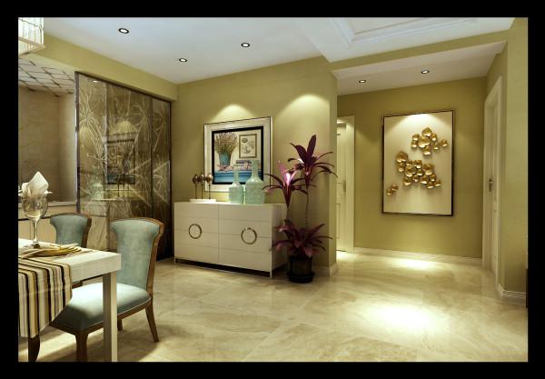 龙发装饰两居室现代风格玄关设计装修效果图