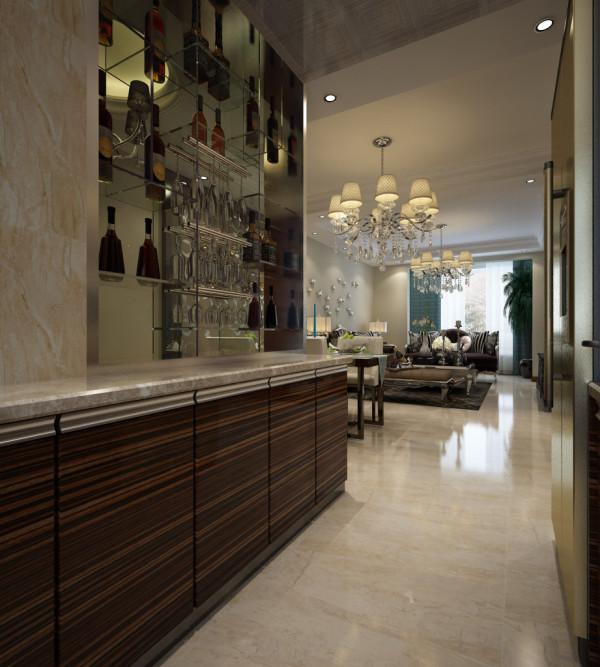 新古典风格酒柜
