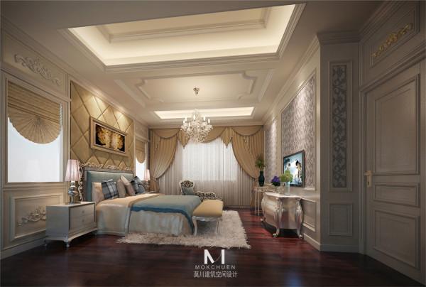 老人房:采用框架加甸子的结构,铁艺的框架和布艺完美的结合起来,呈现出一些特别的设计感觉,看起来就很舒适。