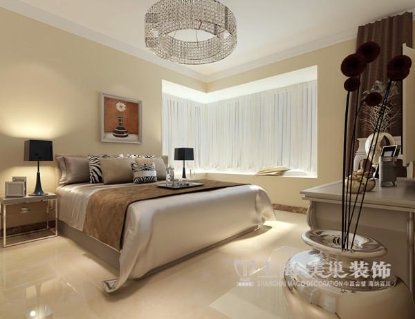 东方银座装修样板间效果图鉴赏3室2厅户型案例设计——卧室布局