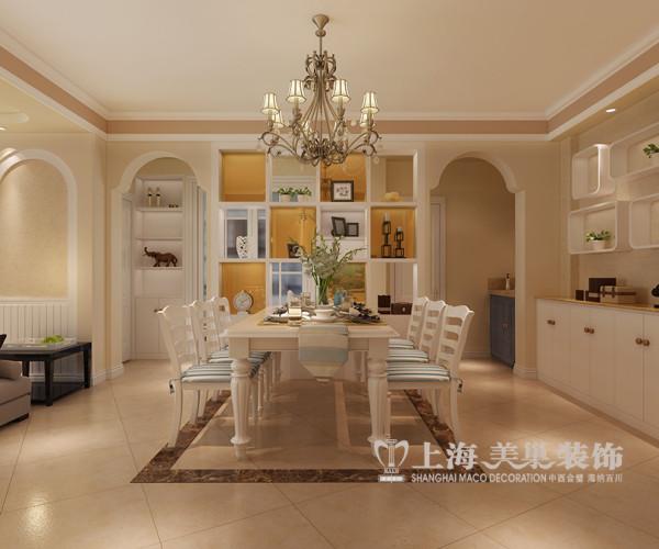 商丘市华夏明珠装修效果图三室两厅125平户型案例鉴赏——餐厅