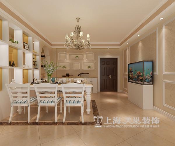 华夏明珠3室2厅户型装修样板间案例效果图——门厅布局