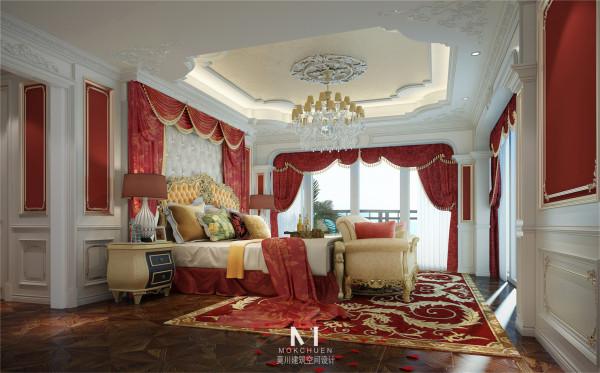 女儿房,大胆使用了艳红作为提亮点,从上到下的搭配实为协调。