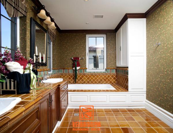 美式乡村风格浴室