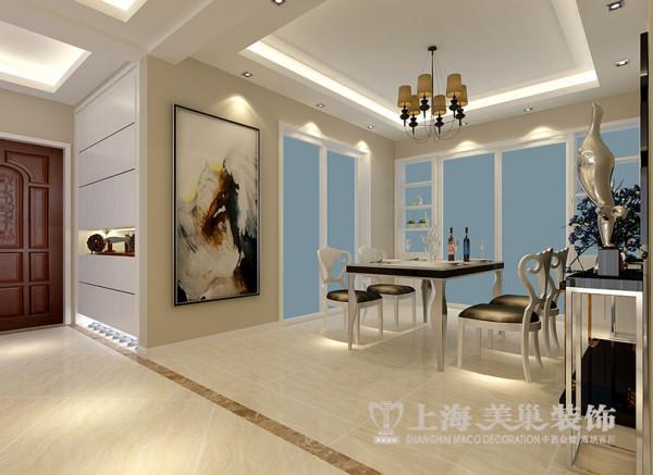 商丘缤纷广场四居室装修现代166平效果图案例——玄关效果图