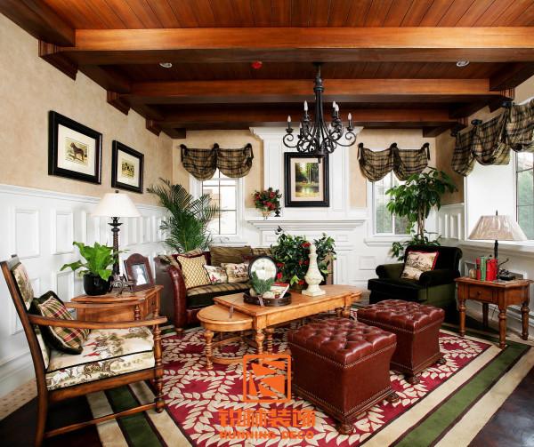 美式乡村风格客厅