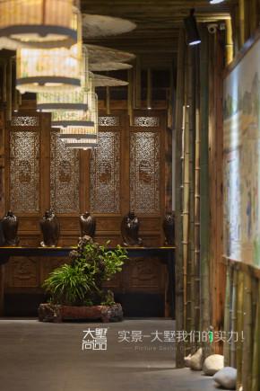 餐厅 大墅尚品 复古风 文艺 由伟壮设计 其他图片来自大墅尚品-由伟壮设计在复古风文艺餐厅·居有竹,食有鱼的分享