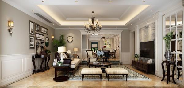 绿地香颂450平别墅户型装修北欧风格设计方案展示,腾龙别墅设计师任云龙作品,欢迎品鉴!