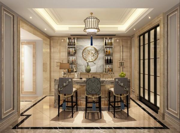 银亿领墅别墅户型装修设计方案展示,新中式风格设计方案,腾龙别墅设计师刘真桢作品,欢迎品鉴!