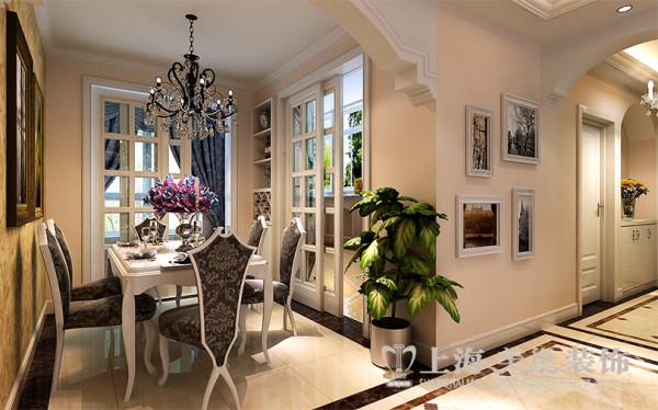 风和日丽装修样板间效果图简欧风格赏析——餐厅布置