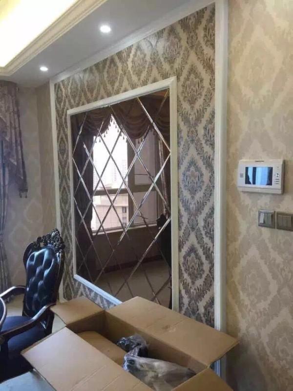 客厅一角---背景墙